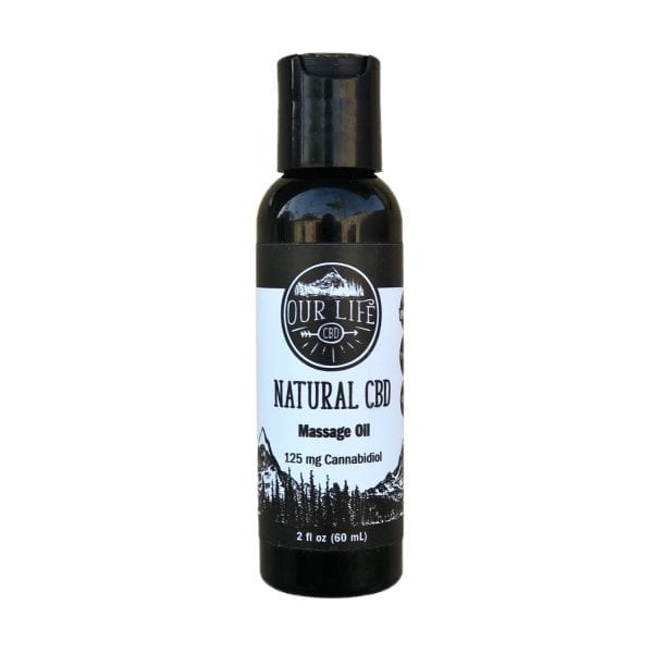 Natural CBD Massage Oil